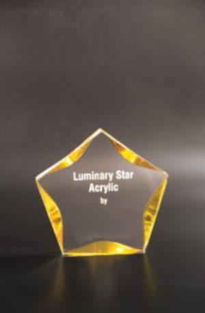 Premios acrílicos