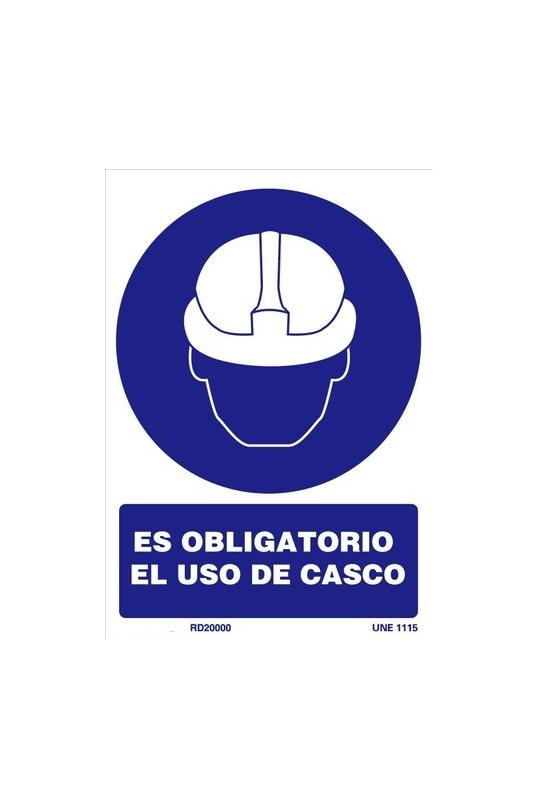 Señal de uso de casco